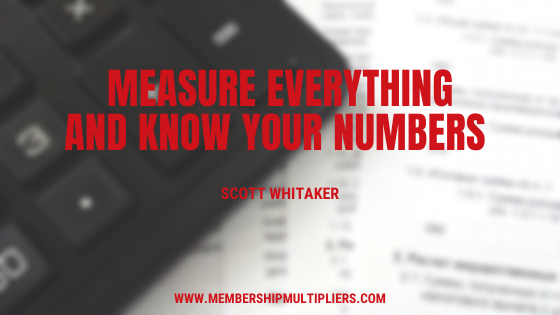 Measure Everything and Know Your Numbers